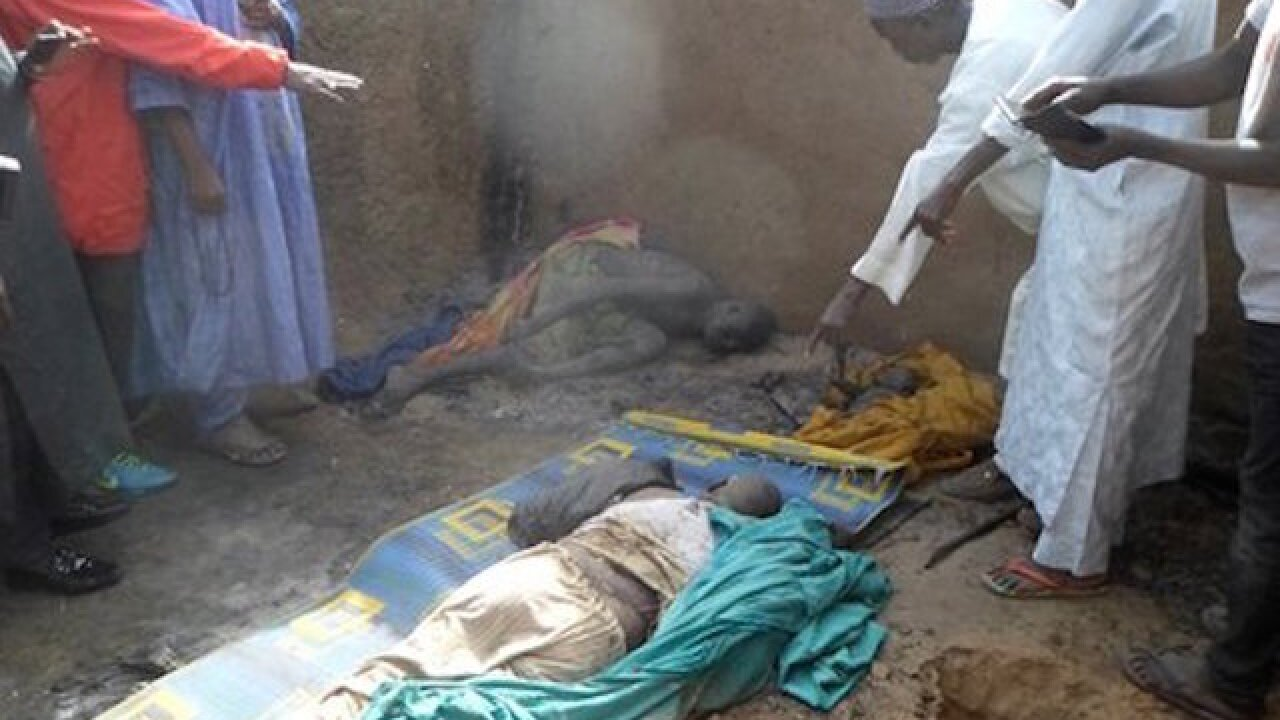 Boko Haram burns children, kills 86