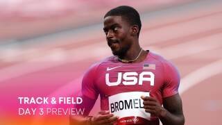 Track & Field Day 3: Bromell seeks to cap comeback with 100m gold