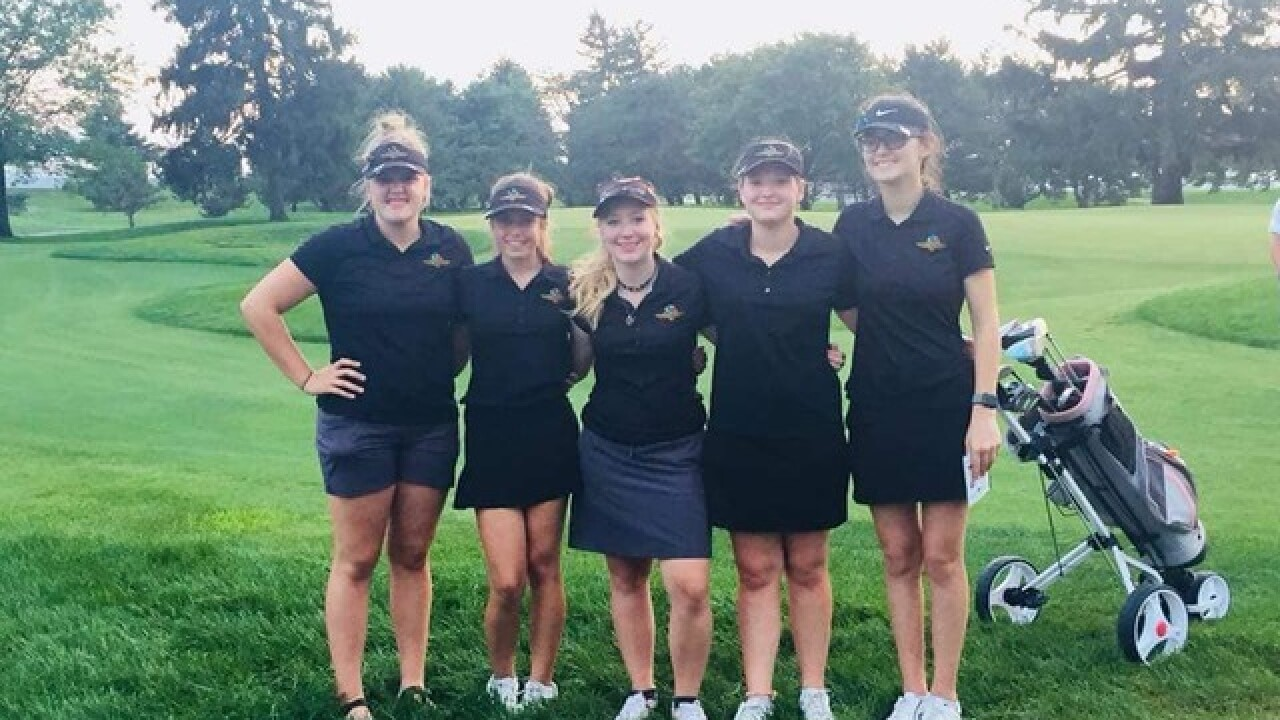Speedway has full girls high school golf team