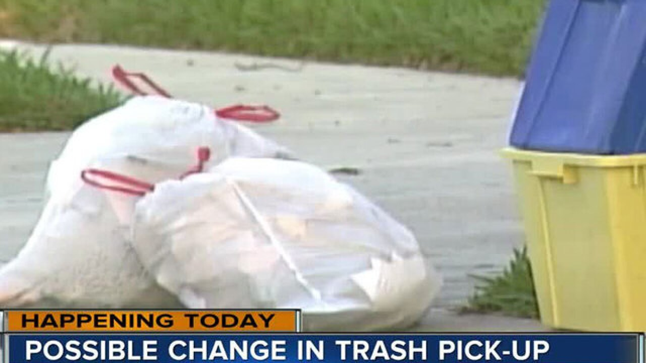 Trash collection will remain twice a week in unincorporated Palm Beach County