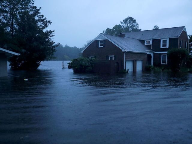 Photos: Florence leaves path of destruction on coast of Carolinas