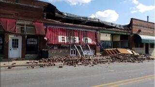 cloverdale building collapse 1.JPG