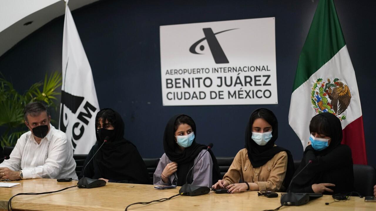 Mexico Afghan All Girls Robotics Team