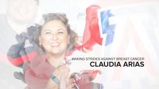 Making Strides: Claudia's Crue