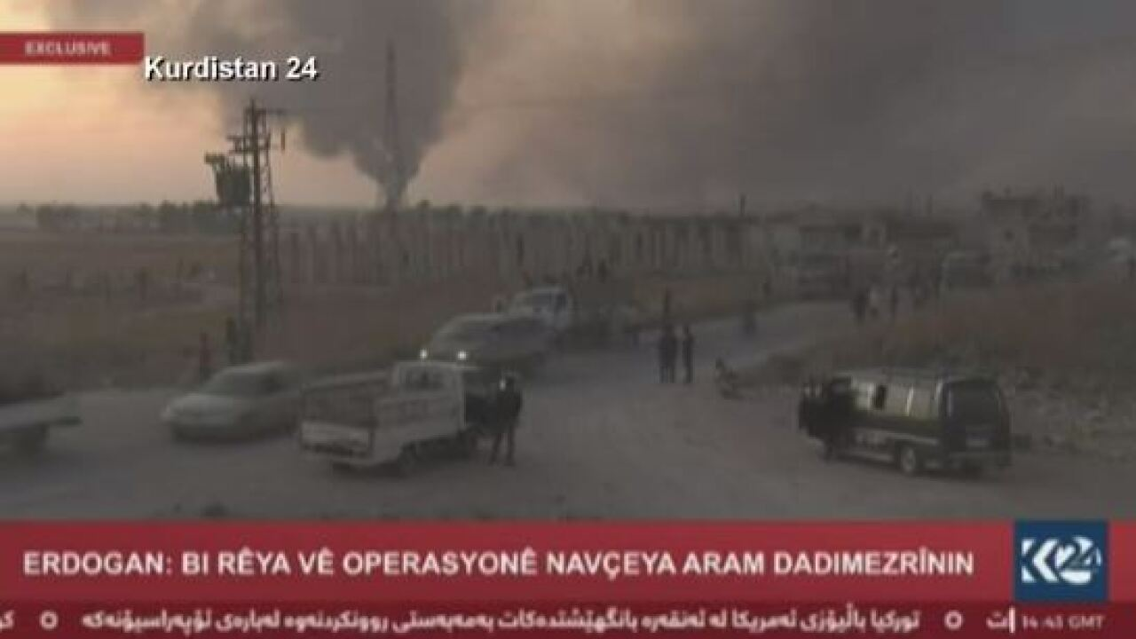 Video: Turkey begins military offensive in Syria following United States' decision to pull back troops