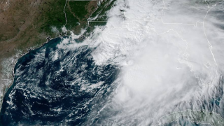 Tropical Storm Nestor takes aim at area devastated by Hurricane Michael
