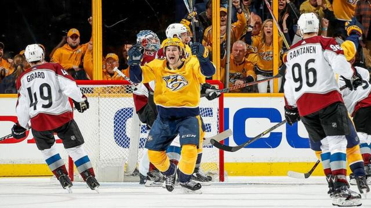 Preds Start Slow, But Cruise Past Avs 5-2