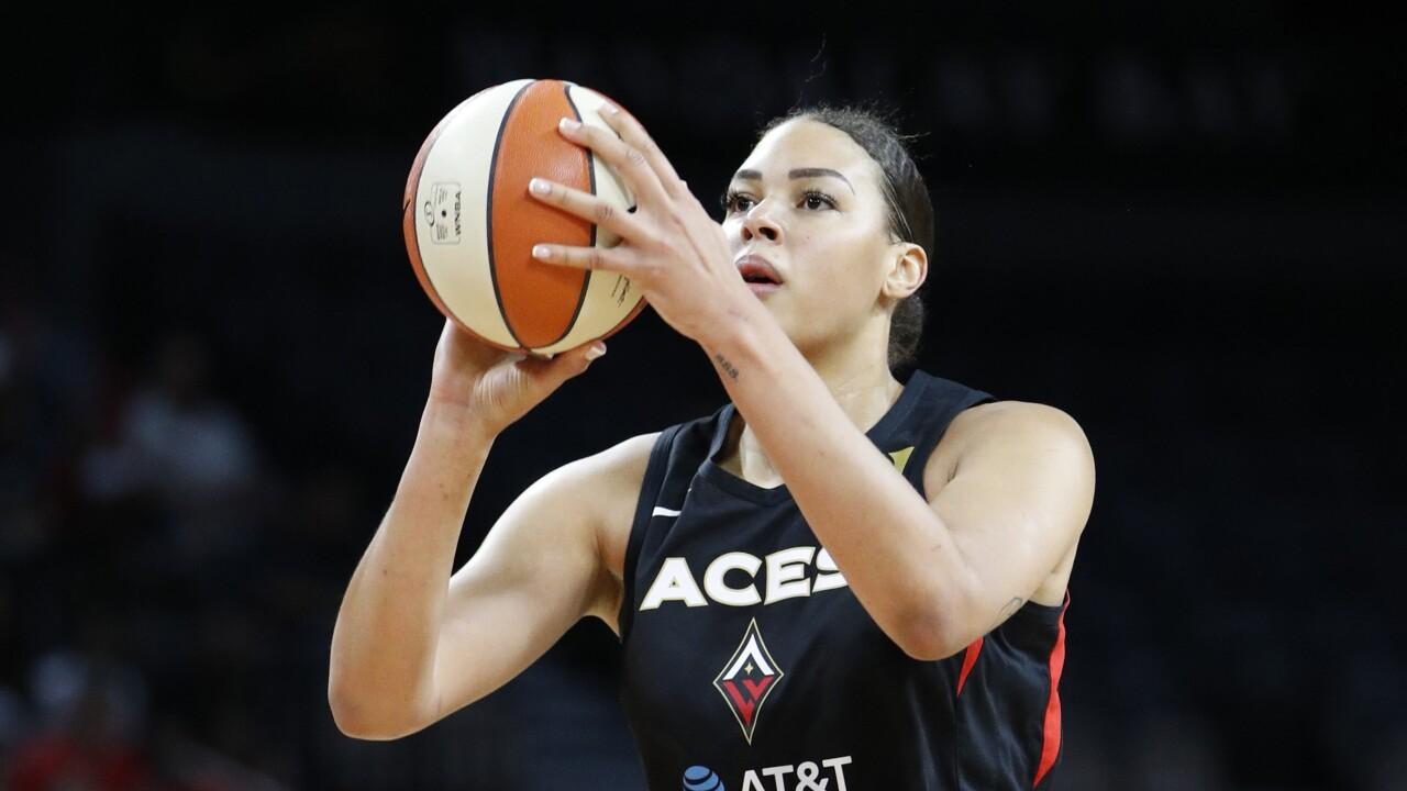 Cambage Australia Fires Basketball