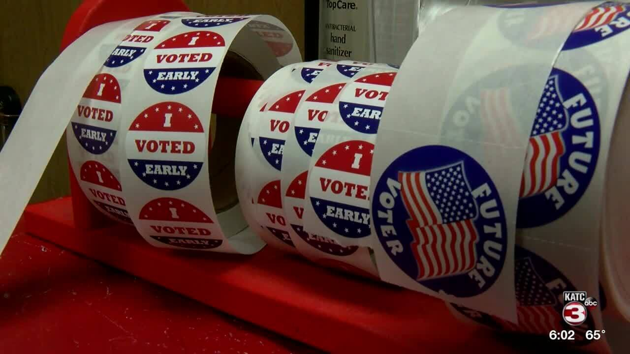 Early voting numbers are in