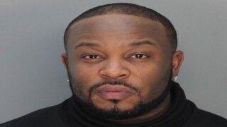 Marcus Cooper, Pleasure P arrest photo March 5, 2020