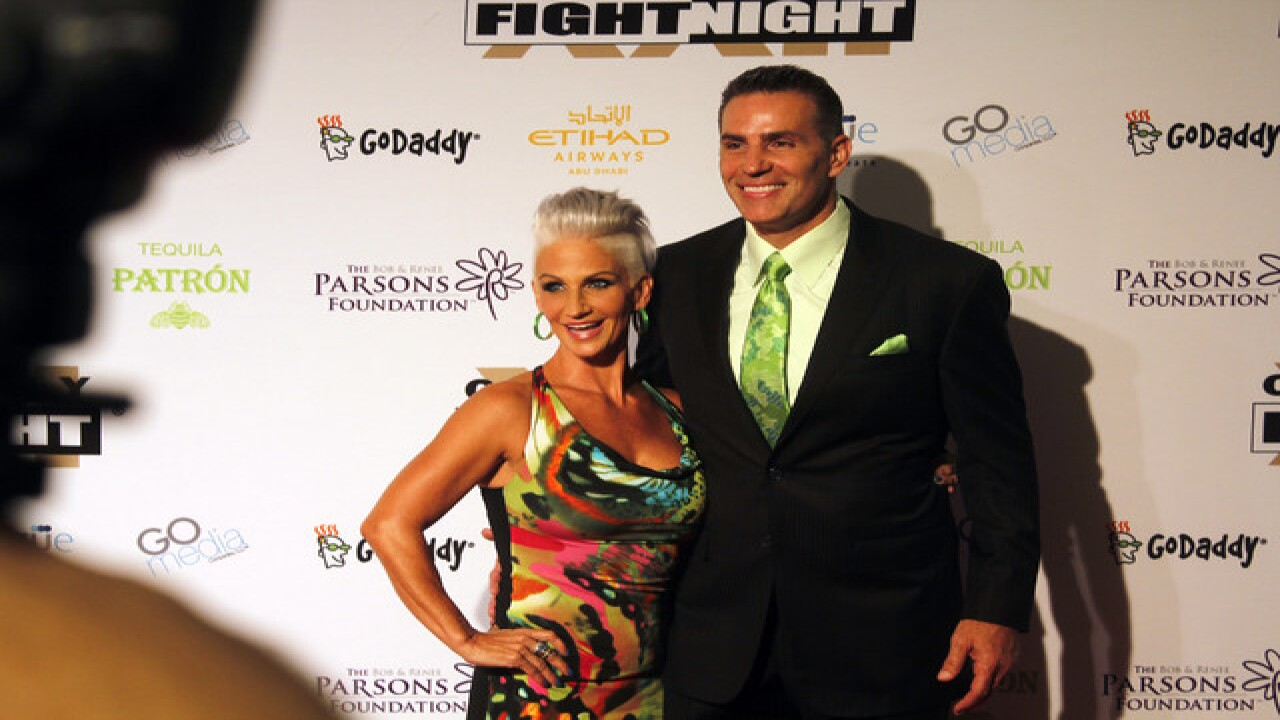 Celebrities attend Celebrity Fight Night in PHX