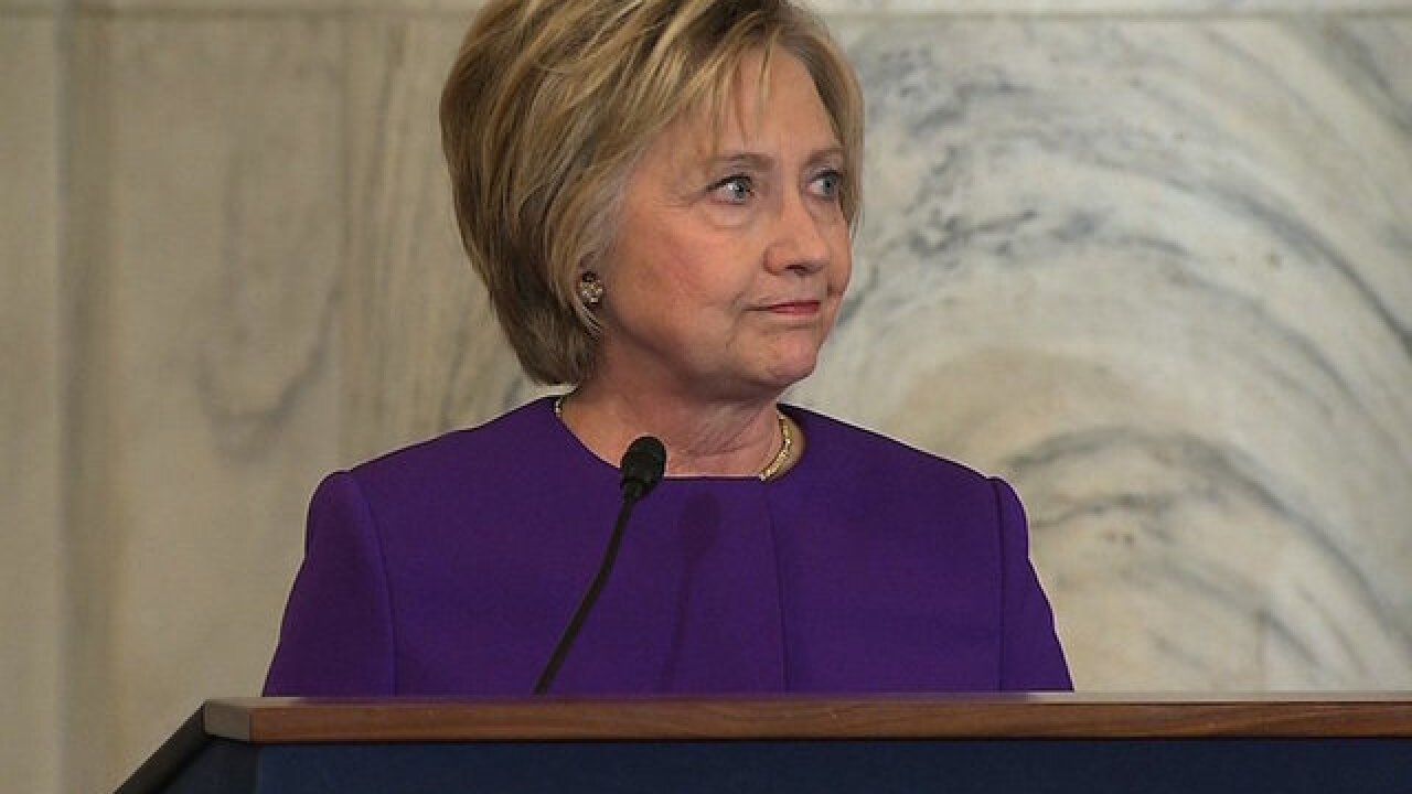 Hillary Clinton calls fake news 'an epidemic' with real world consequences