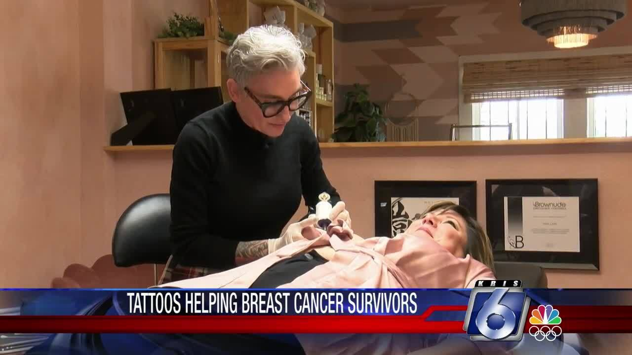 """Cosmetic tattooing makes breast cancer survivors """"feel whole again."""""""