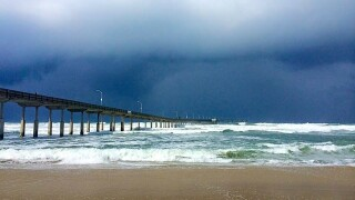 Strong rip currents, high surf expected in SD