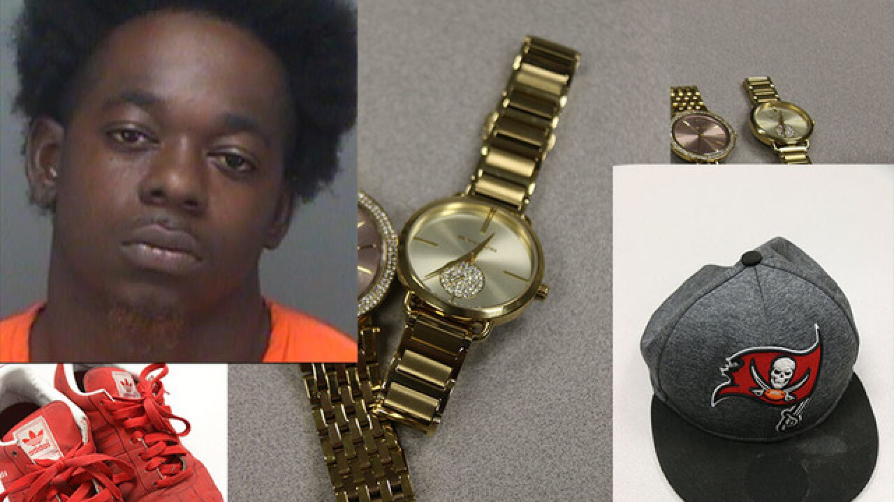 Clearwater man suspected in at least 9 burglaries arrested