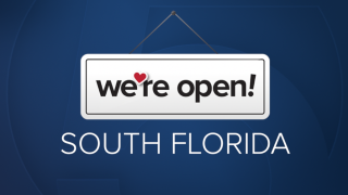 'We're Open South Florida' WPTV NewsChannel 5 graphic