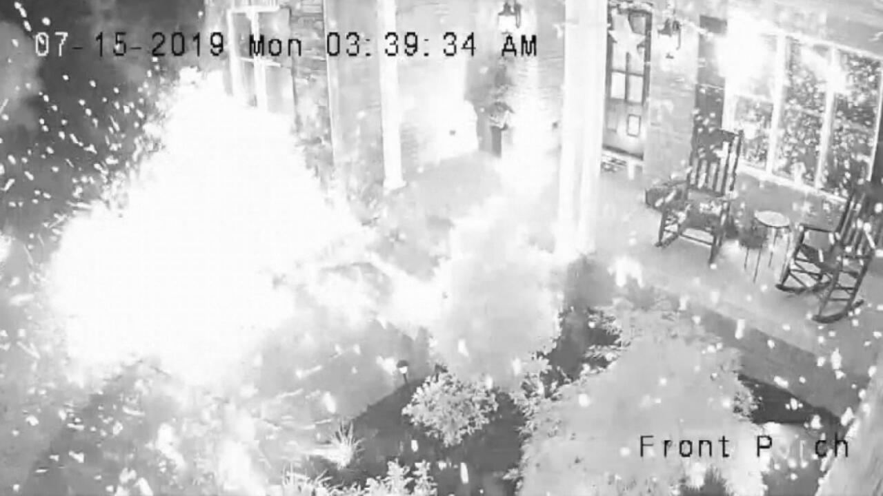 Fireworks attack in Kentucky