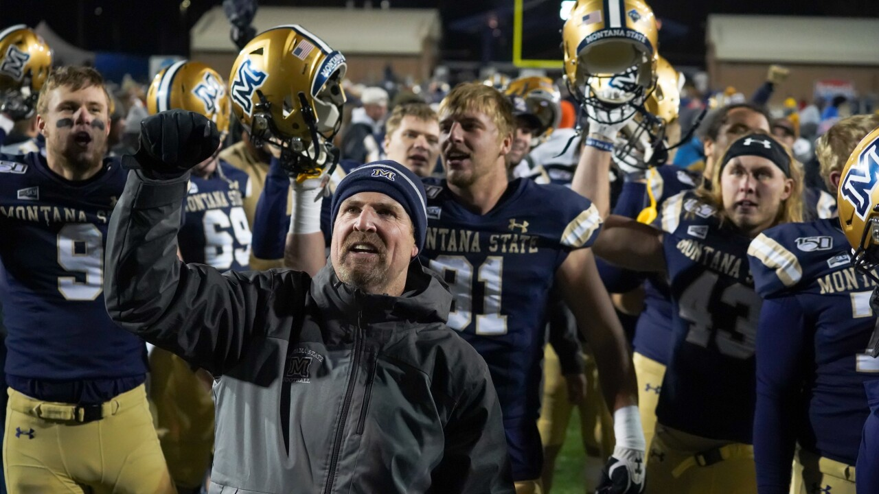 Jeff Choate Montana State football