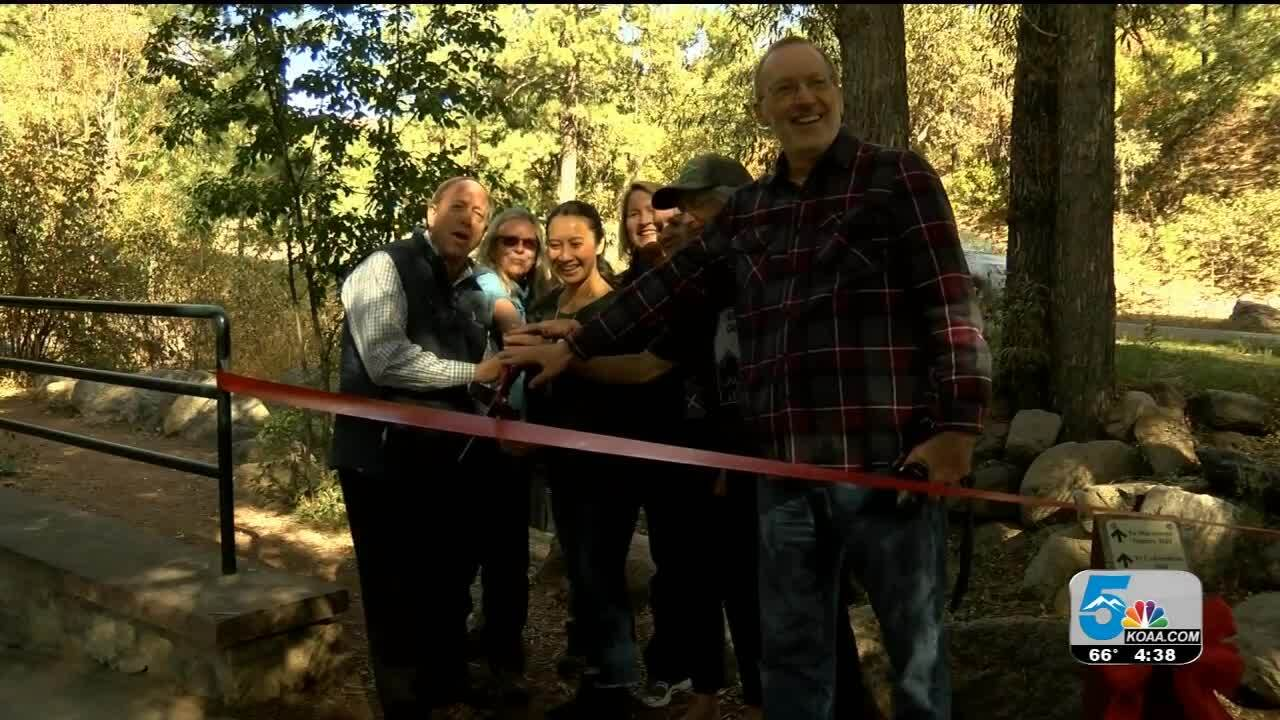 Ribbon cutting for new handicap accessible trail in Colorado Springs