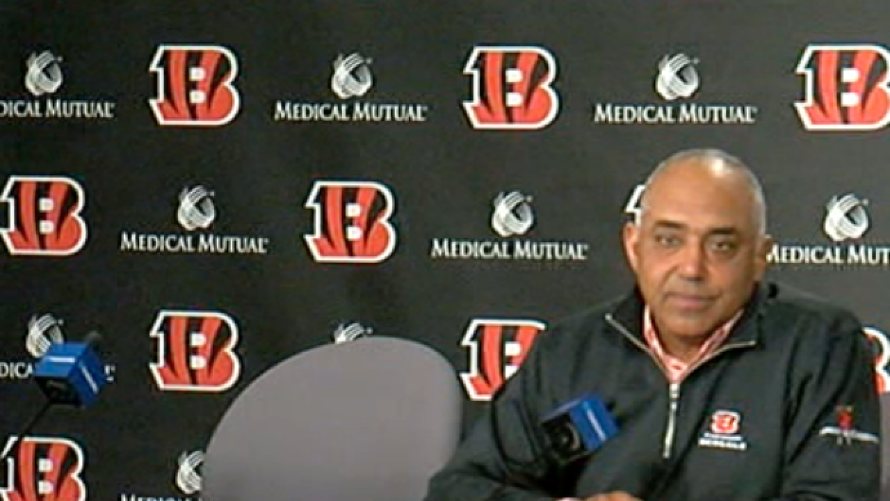 Fay: There are a lot of questions for Marvin Lewis and a lot of football-speak for answers