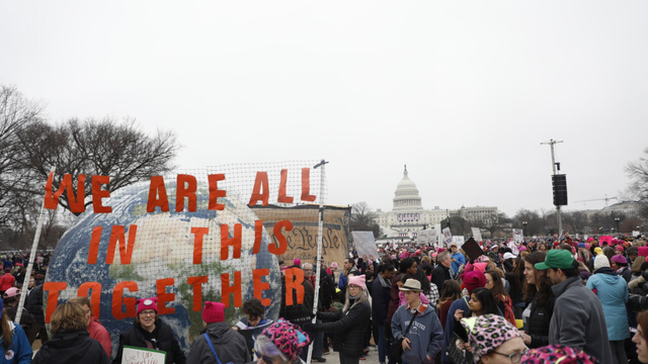 Thousands to march in SD for women's rights
