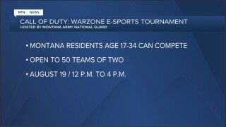 Montana Army National Guard hosts esports tournament