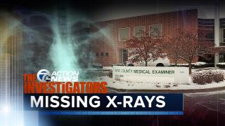 Missing X-rays wayne county medical examiner