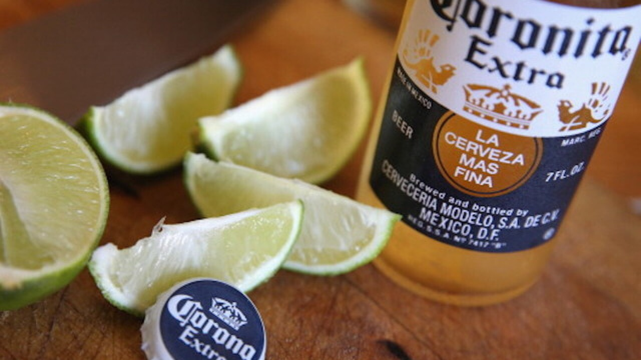 Corona recalls cases of beer