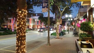 Downtown Delray goes pink for Breast Cancer Awareness Month