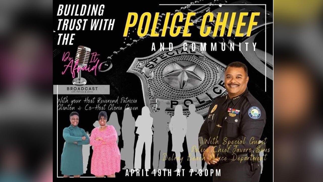 Facebook Live with Delray Beach Police Chief Javaro Sima