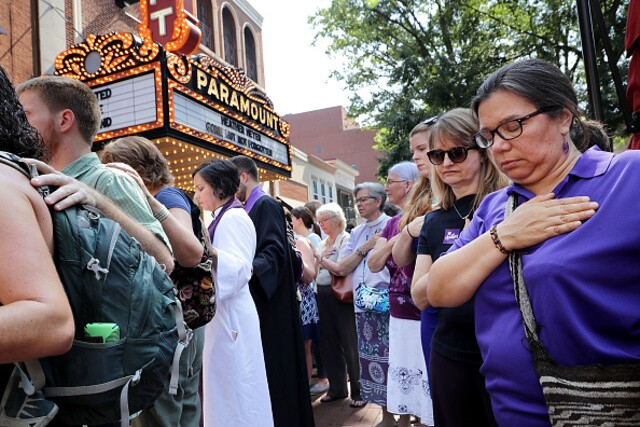 Memorial for Heather Heyer and victims of Charlottesville