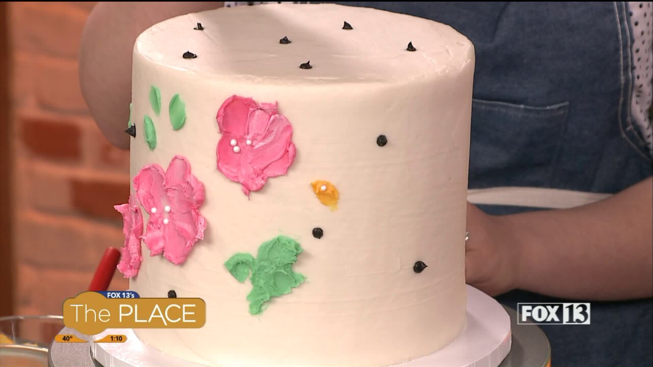 Here's a great buttercream icing recipe for cakedecorating
