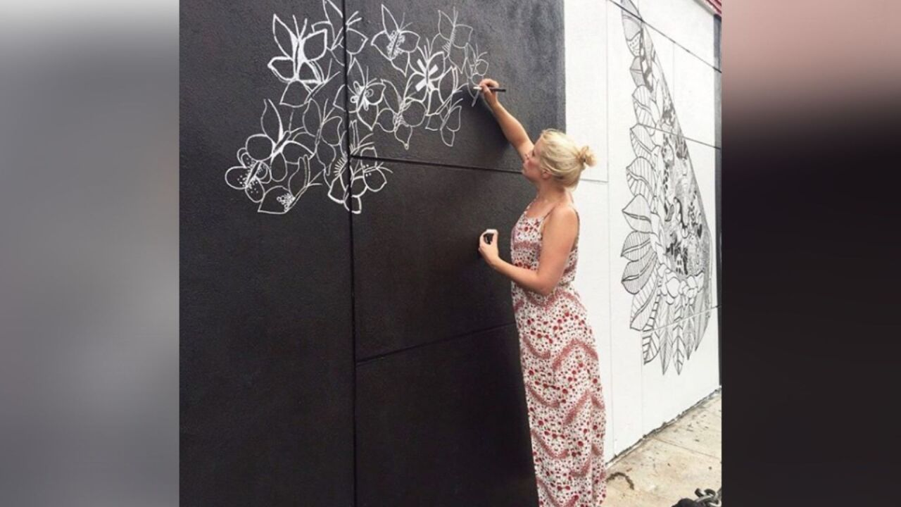 Three murals to be painted at MacArthur Center by world renowned street artist
