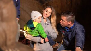 Lewis & Clark Caverns Family Discount Month-See the Caverns in a Whole New Light!