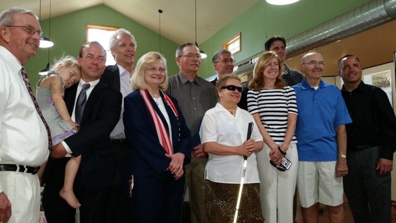 WWII Vet and local artist honored in Hamburg