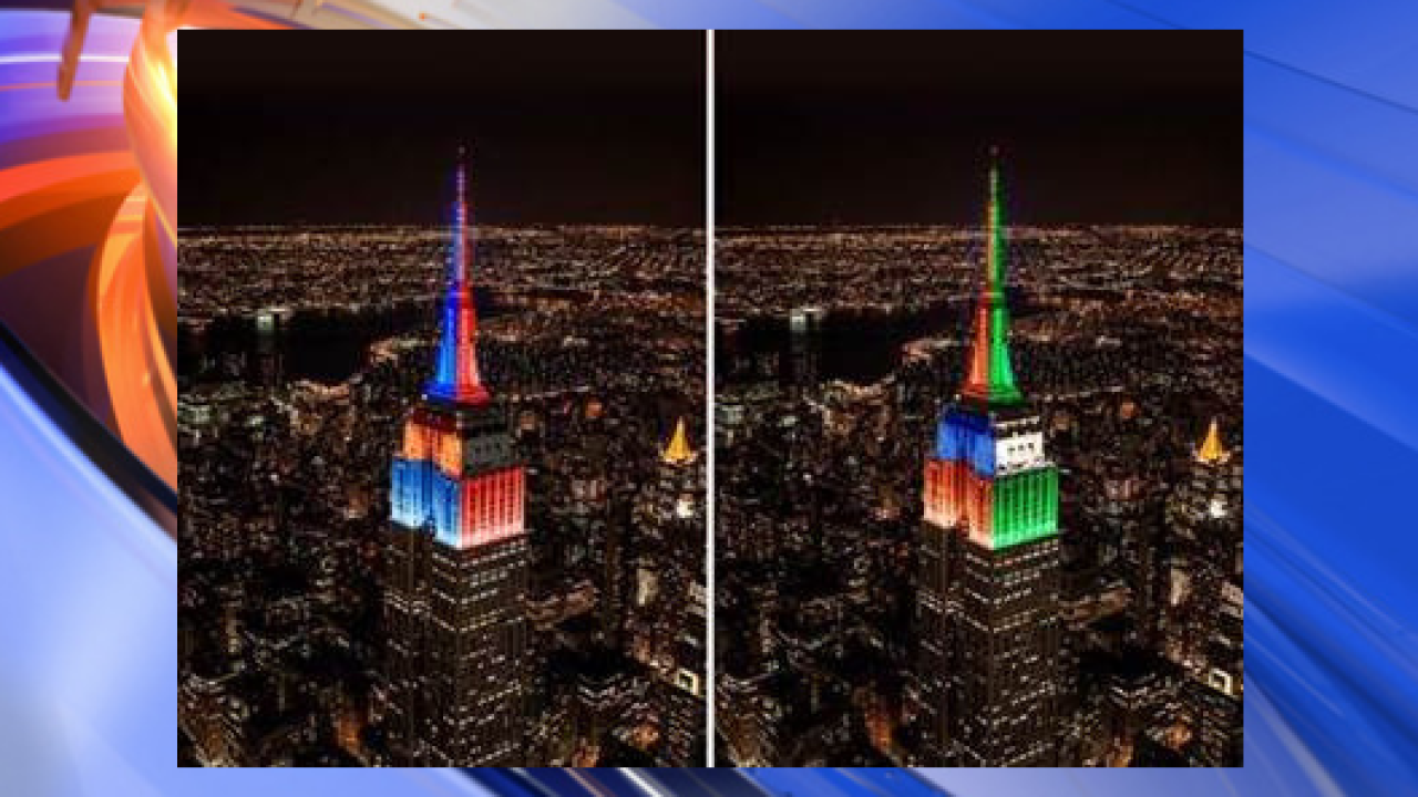 Empire State Building lights up in honor of UVA, Final Four