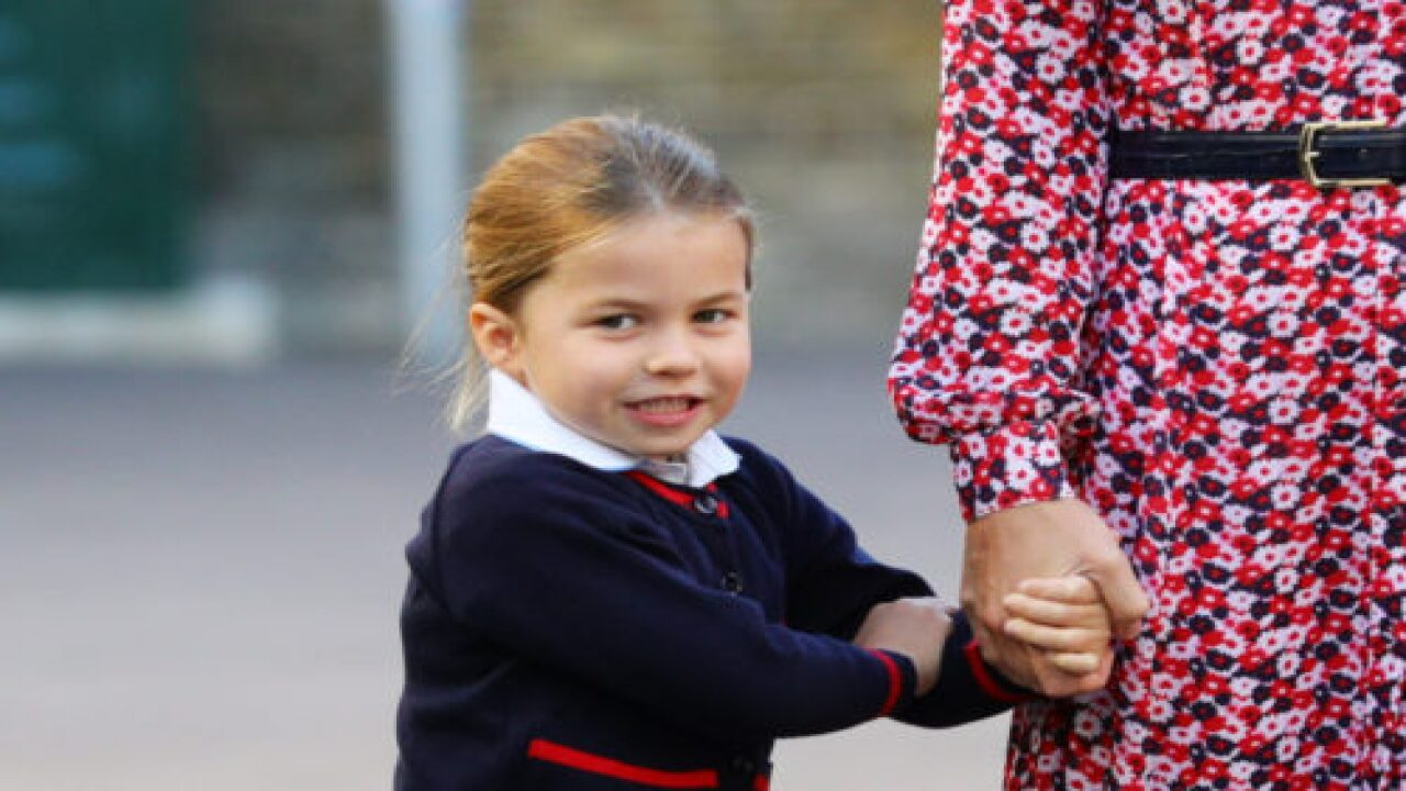 Princess Charlotte Curtsied For The Queen And It Was Adorable
