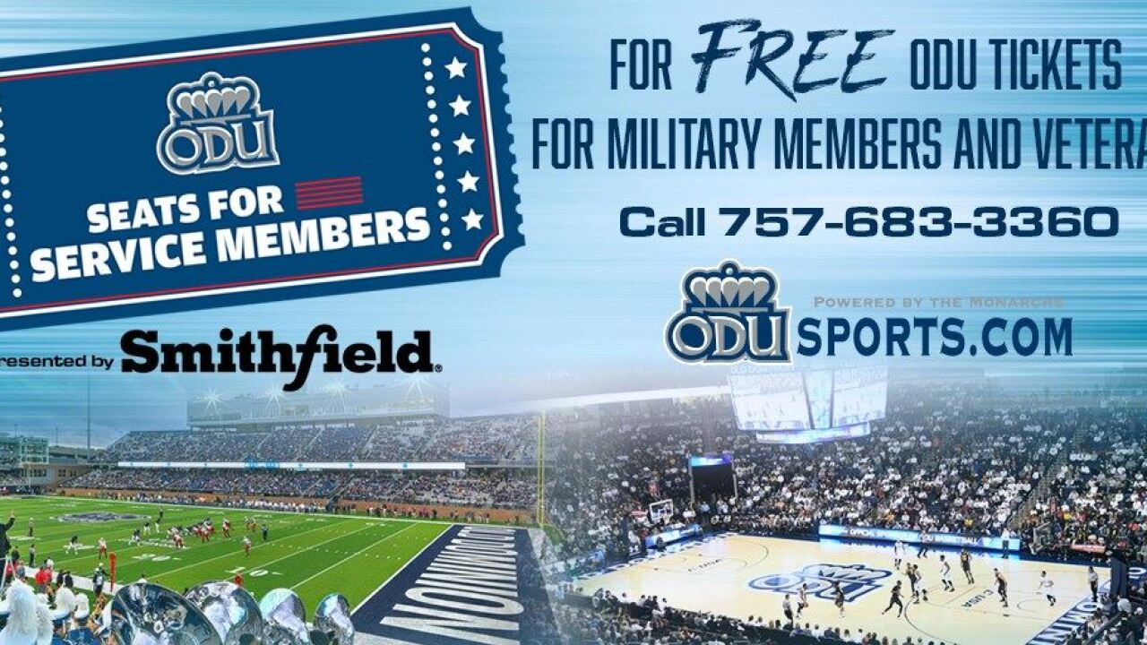 """ODU """"Seats for Service Members"""""""