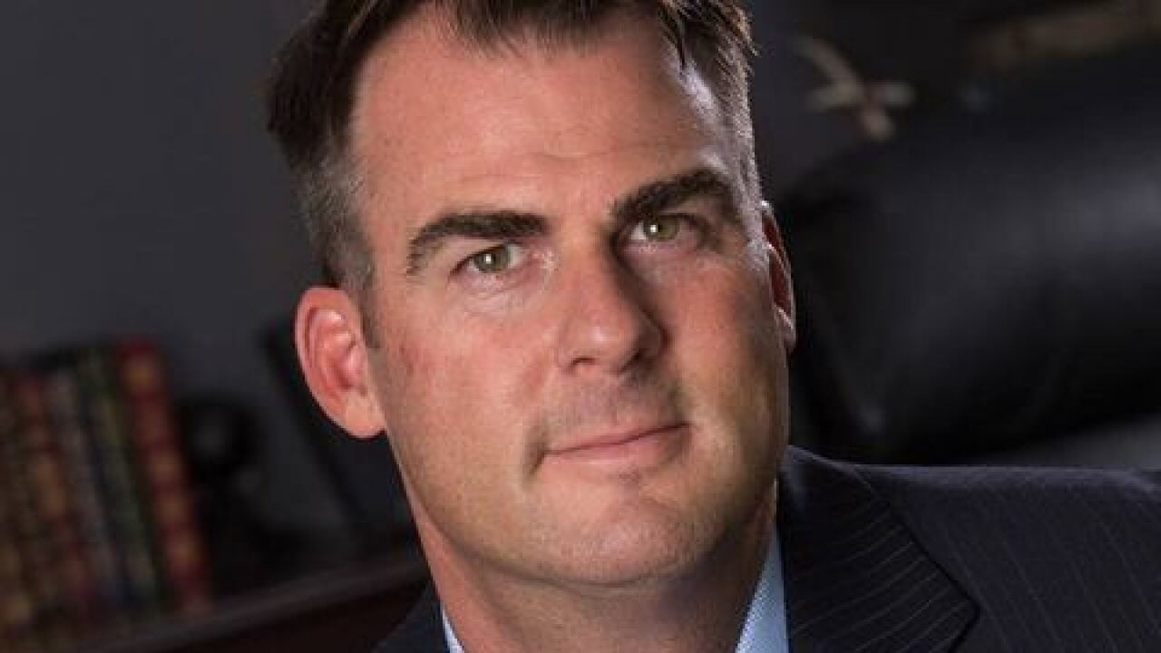 Gov. Stitt tweets about meeting with Vice President Mike Pence