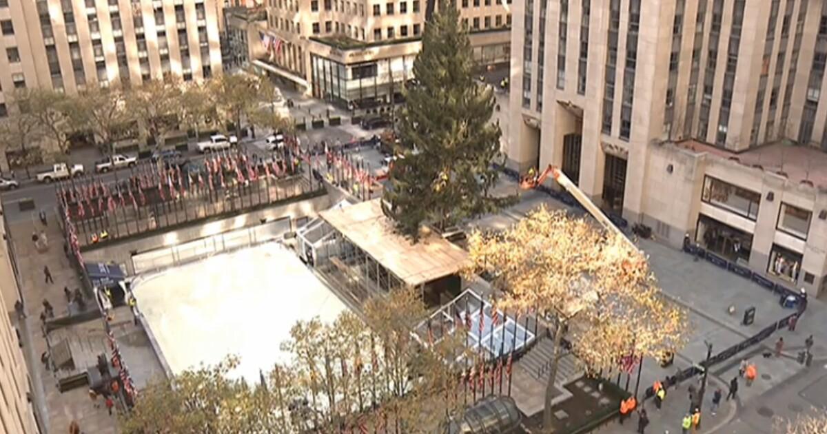 Rockefeller Center Christmas tree arrives; lighting Dec. 2