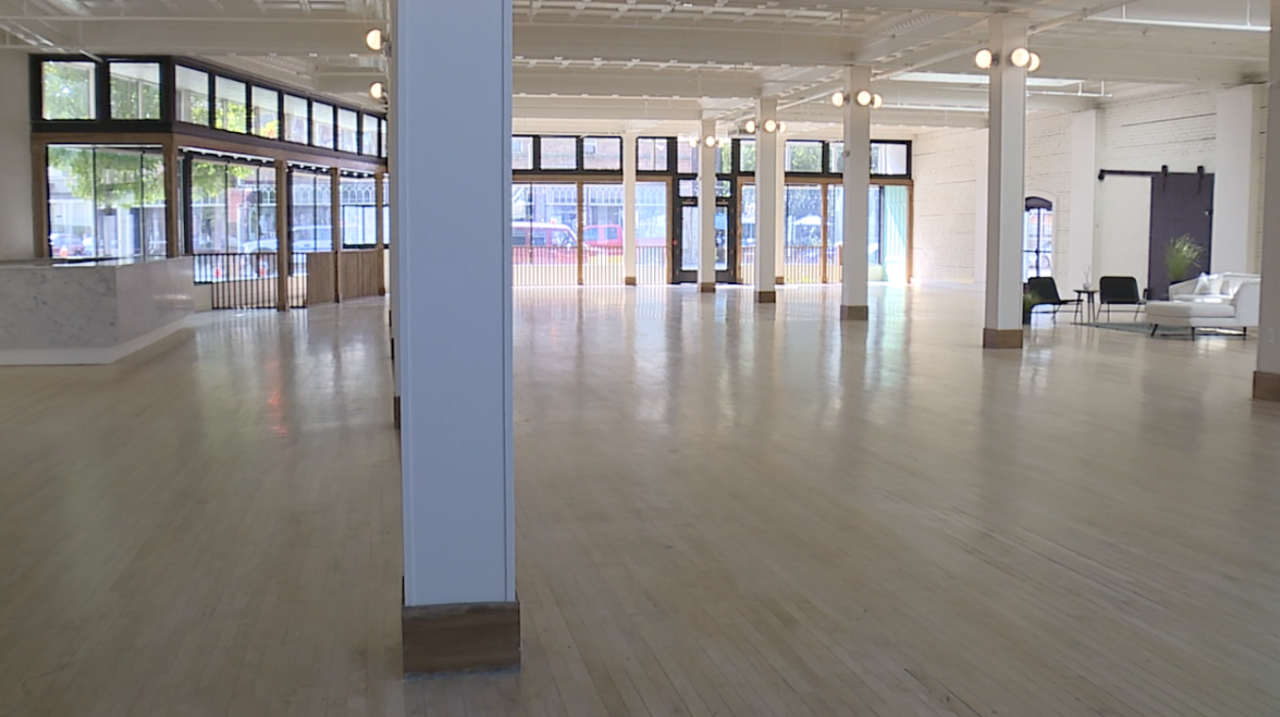100-year-old building transformed into event, social space in Gordon Square neighborhood