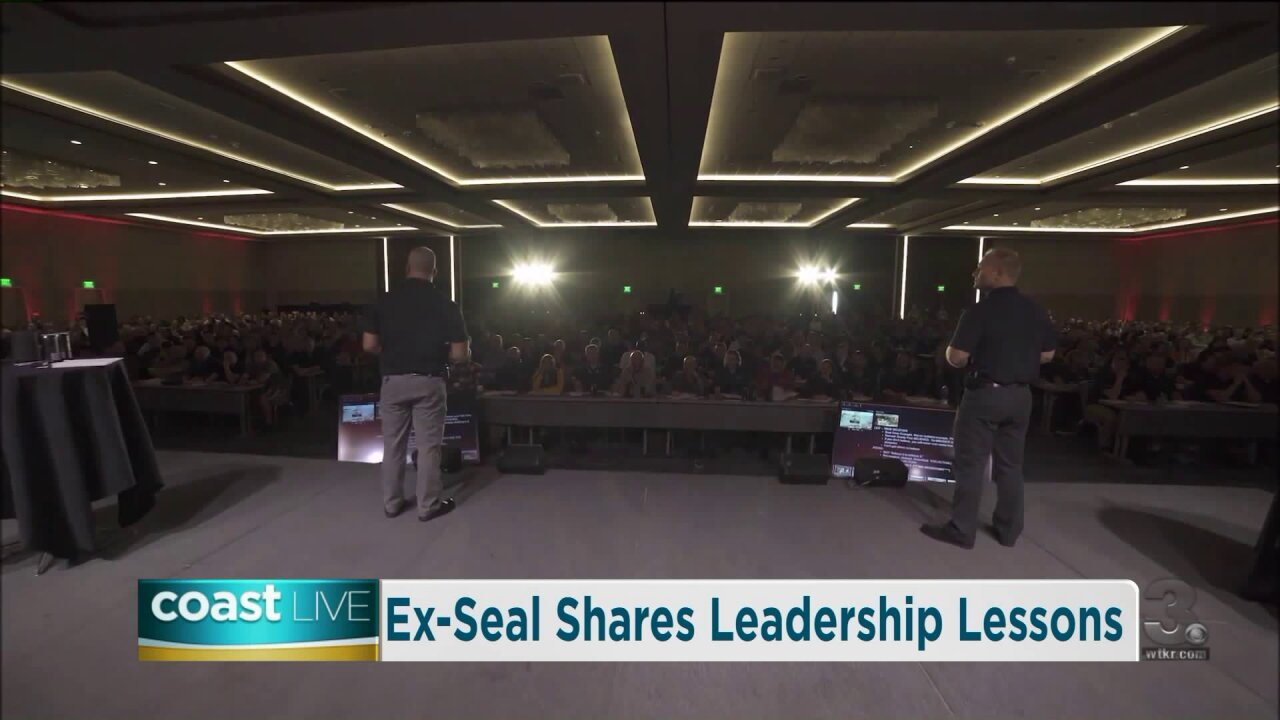 Leadership advice from a former Navy Seal on CoastLive