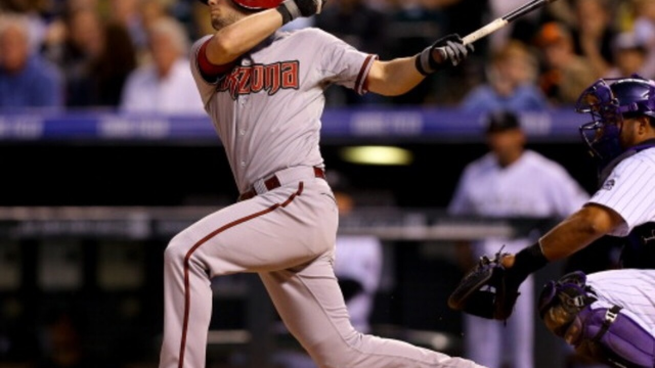 Arizona Diamondbacks' Owings injured in collision with Pollock