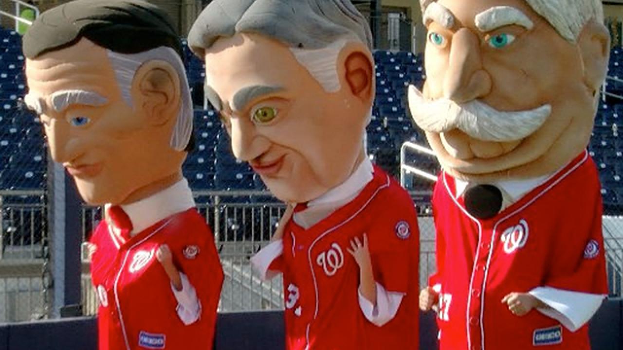 Mascot mania as baseball spring training nears for the Washington Nationals