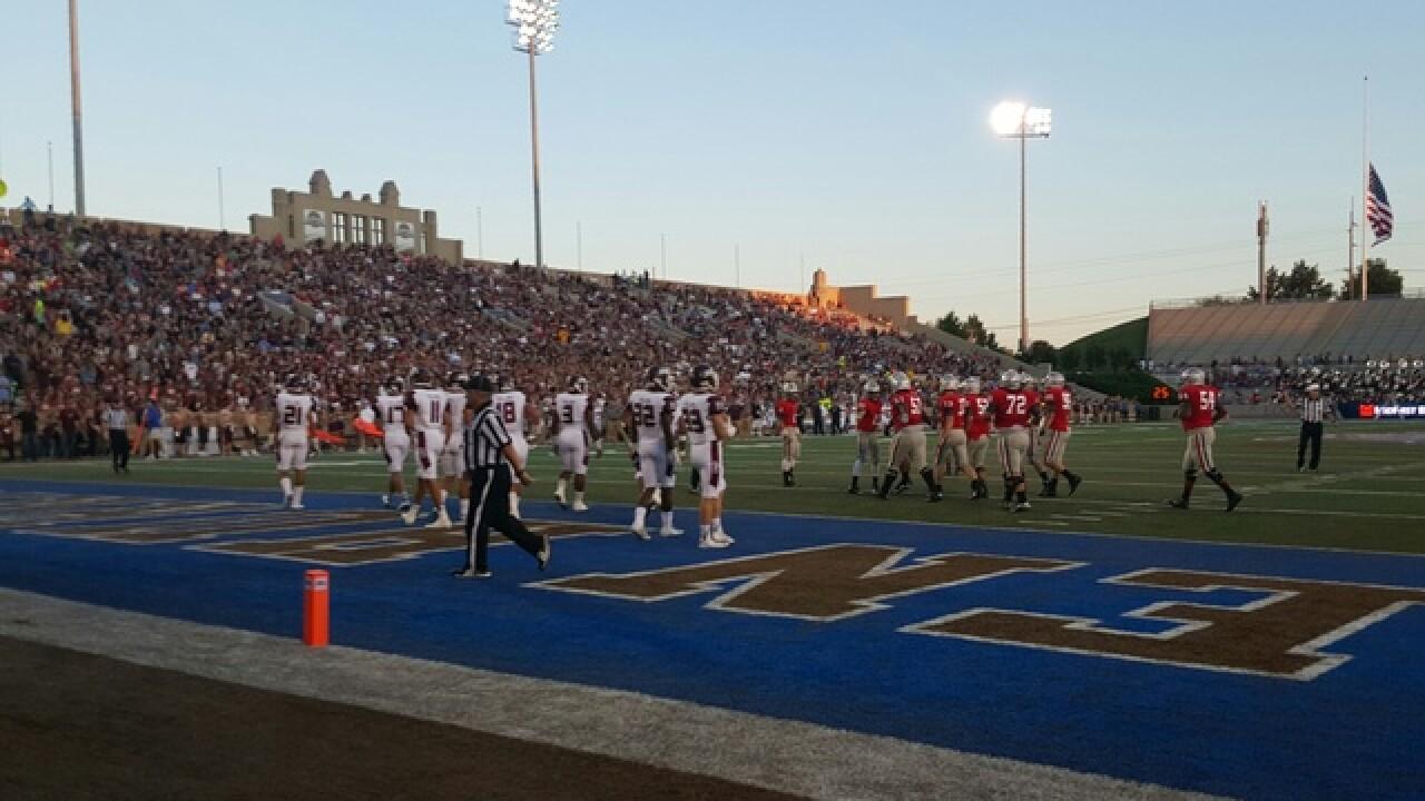 Jenks vs. Union Backyard Bowl 2015
