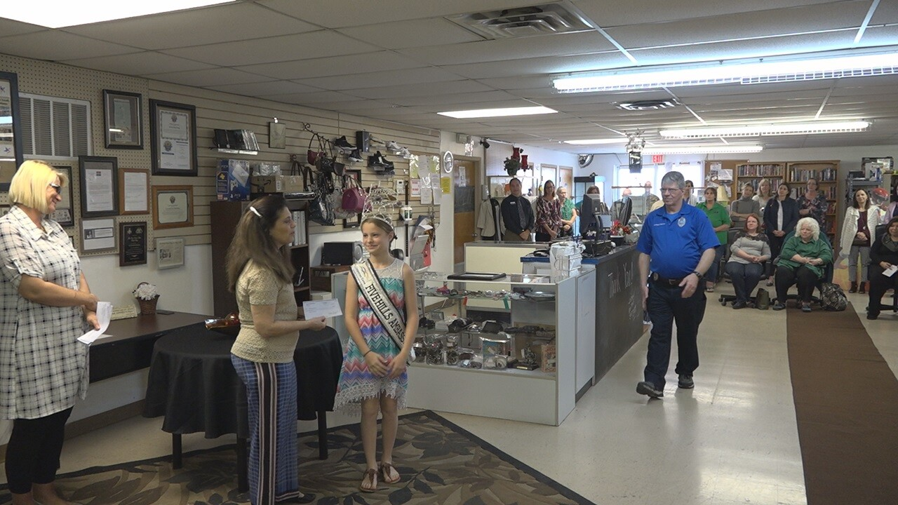 Thrift shop donates thousands of dollars to organizations