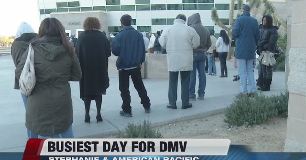 Longer than usual wait times at DMV today