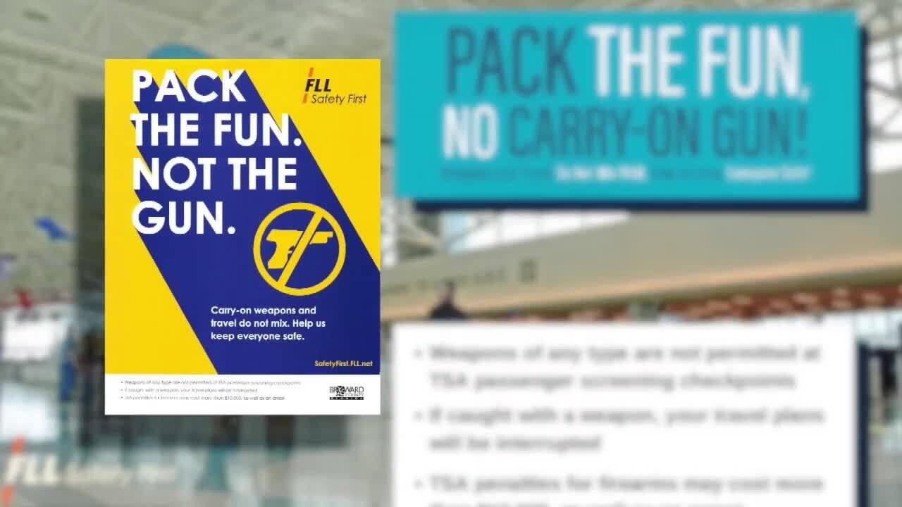 'Pack the Fun. Not the Gun.' TSA campaign