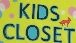 Kids Closet at at Heritage Elementary School in Greenacres
