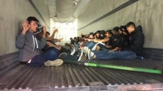 AZ driver arrested after 31 immigrants found in big rig